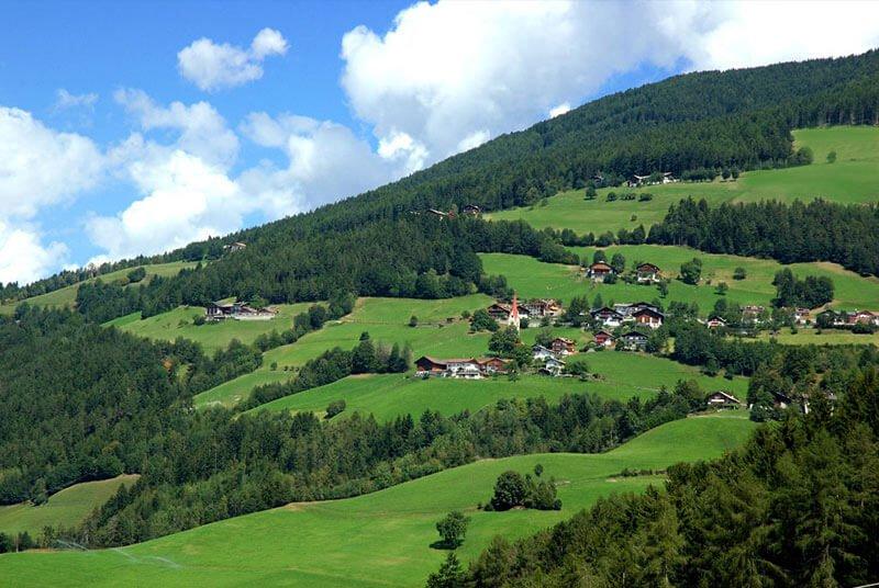 Vacanze in agriturismo in un ambiente rurale