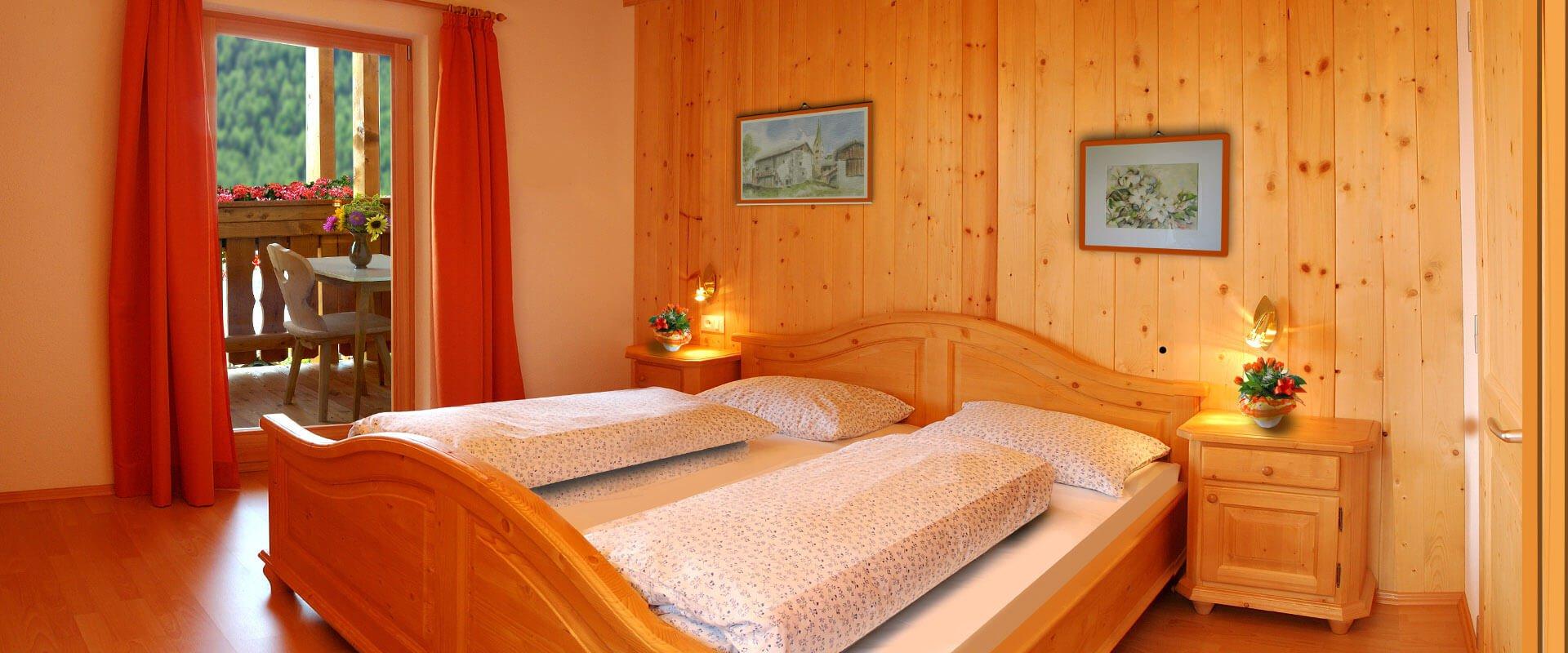 ferienwohnung brixen in suedtirol unterkunft plose schlafzimmer