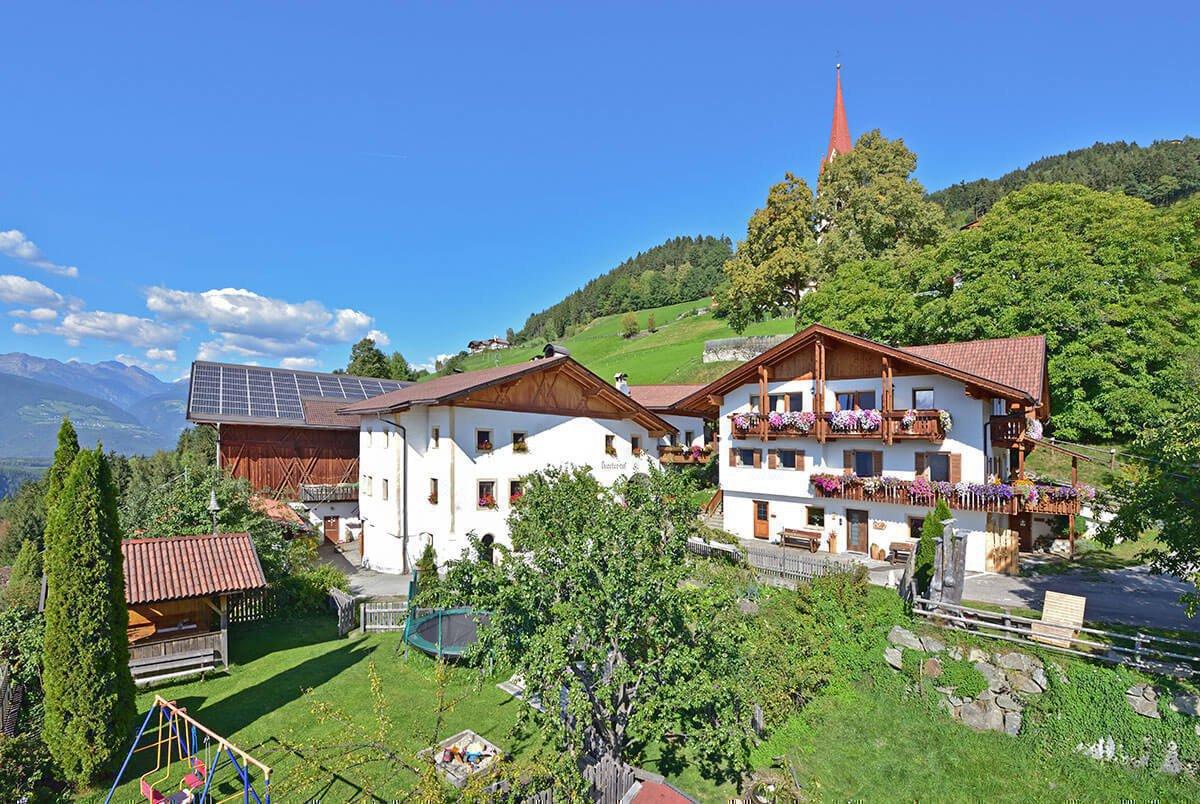Kircherhof – Bauernhofurlaub in Brixen/Südtirol auf historischem Boden