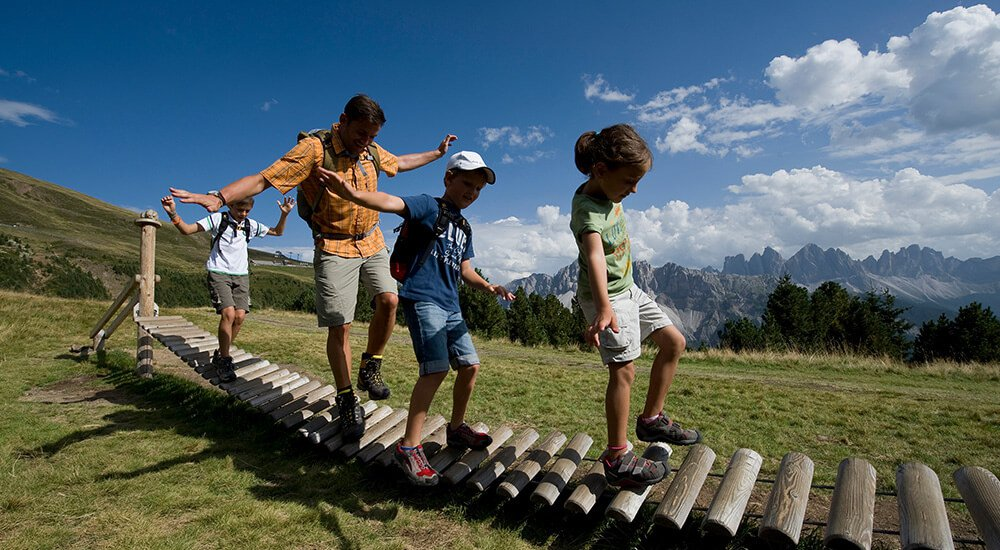The mountains as an adventure playground – discover the alpine surroundings
